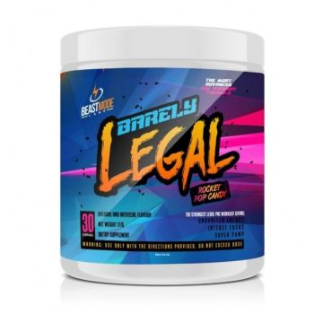 Beastmode Labs Barrely Legal Pre Workout