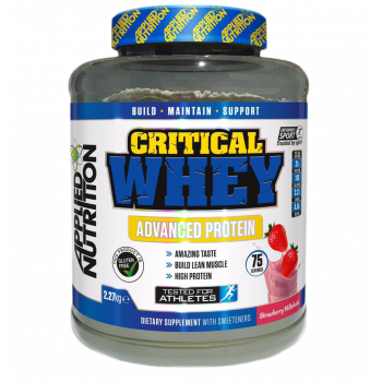 Applied Nutrition Critical Whey 2.27kg + FREE SHAKER